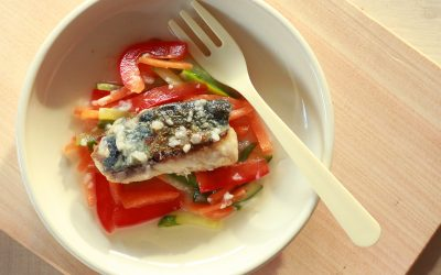 魚と野菜の甘酢漬け(調理時間:約13分)*完了期から