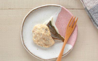 魚の豆乳みそソース(調理時間:約5分)*後期から