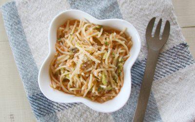 魚のトマトスープパスタ(調理時間:約12分)*後期から