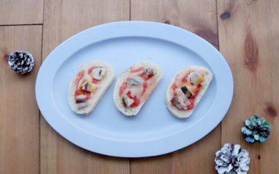 【ユーザー考案レシピ】ツバスとトマトのオープンサンド *完了期から