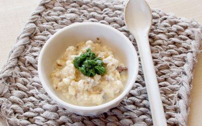 魚と安納芋の白和え(調理時間:約6分)*初期から