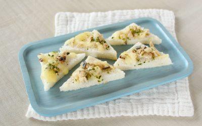魚と青のりのチーズトースト(調理時間:約6分)*後期から