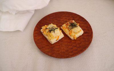 【ユーザー考案レシピ】豆腐の和風ピザ *後期から