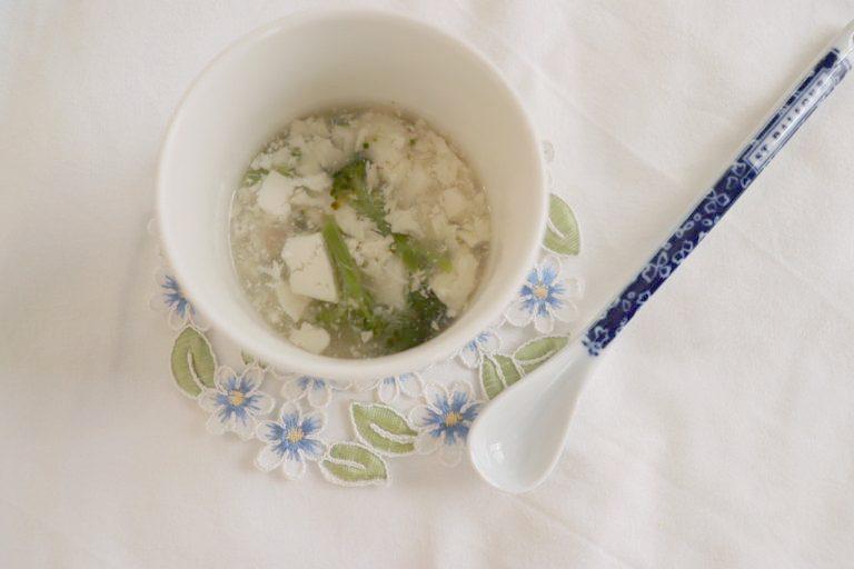 【ユーザー考案レシピ】まだいと豆腐のあっさり餡かけ *後期から