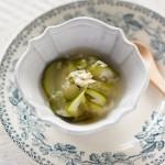 【栗原さんのレシピ】ズッキーニのスープ煮