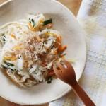 素麺チャンプルー(調理時間:約10分)対象:後期から