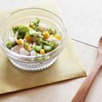 アスパラとツナのサラダ(調理時間:約4分)対象:完了期から
