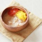 魚のパプリカとトマトのペーストあえ(調理時間:約5分)*初期から