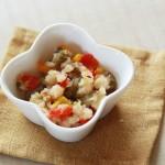 魚と野菜の味噌炒め煮(調理時間:約6分)*後期から
