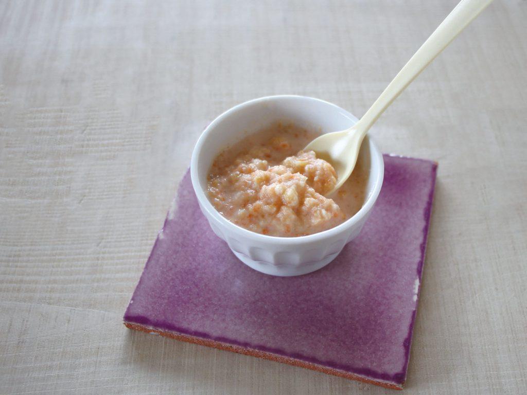 mogcookの魚を使った離乳食レシピ 魚とにんじんのスイートポテト煮込み