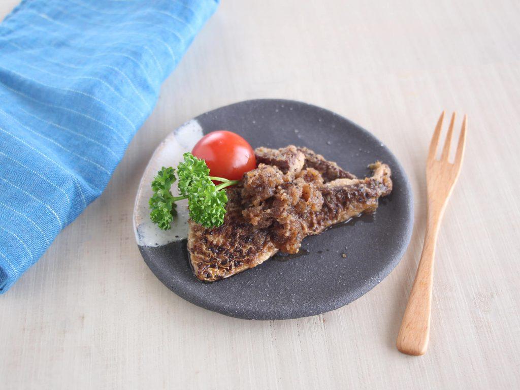 mogcookのお魚幼児食レシピ 魚のしょうが焼き。対象:幼児食