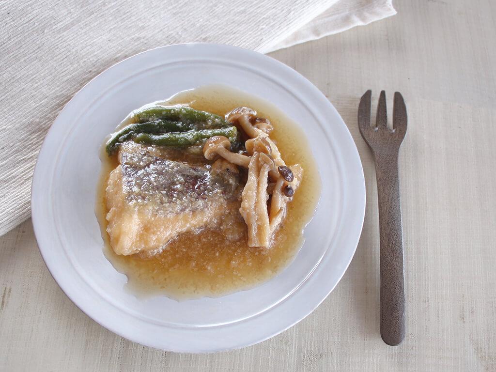 魚の甘麹煮つけ(調理時間:約8分)対象:幼児食