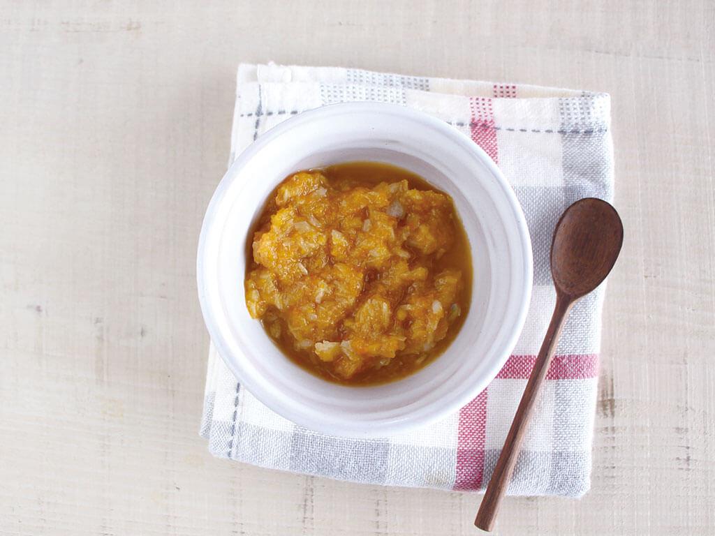 mogcookのお魚離乳食レシピ 魚と野菜の高野煮
