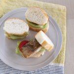 魚の照り焼きロールサンド(調理時間:約10分)対象:幼児食