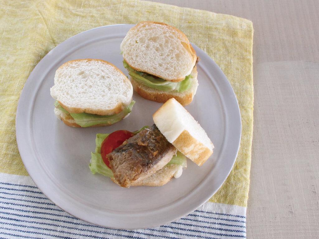 mogcookのお魚離乳食レシピ 魚の照り焼きロールサンド