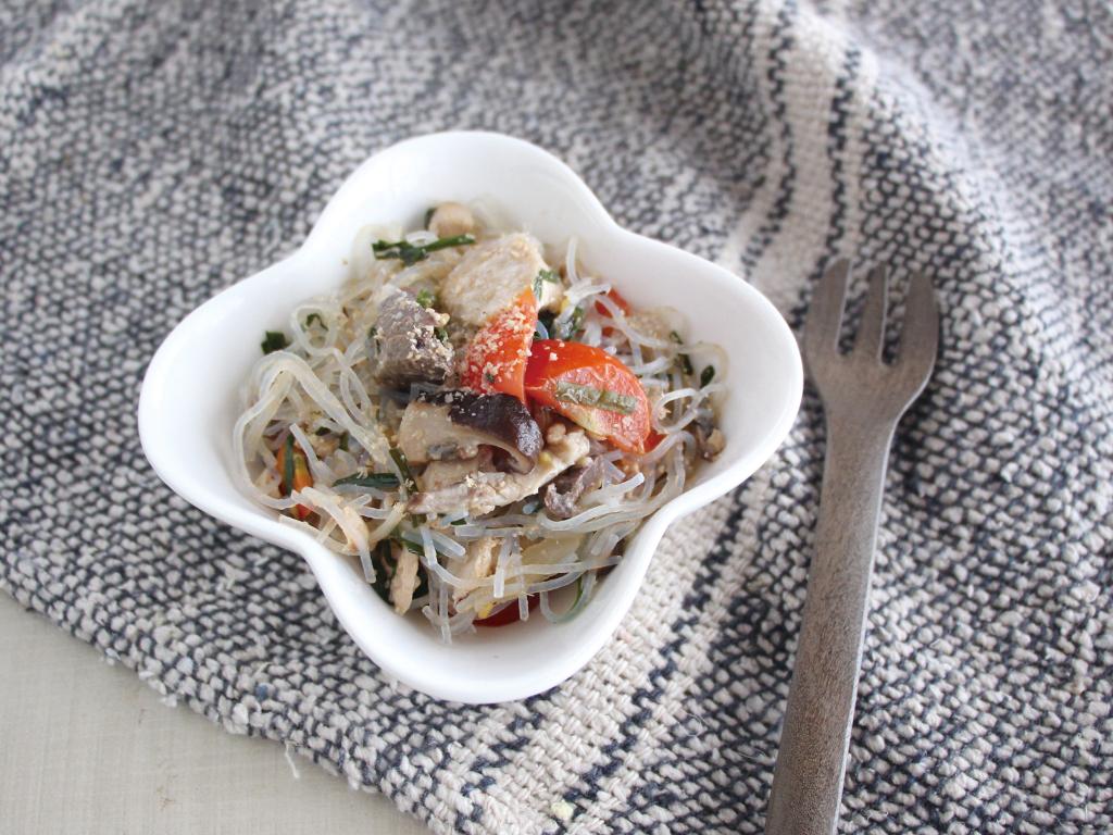 mogcookのお魚離乳食レシピ 魚入りチャプチェ