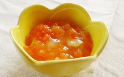 魚と野菜のスープ煮(調理時間:15分)対象:中期から