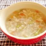 魚と冬野菜のほっこりスープ(調理時間:約13分)対象:初期から