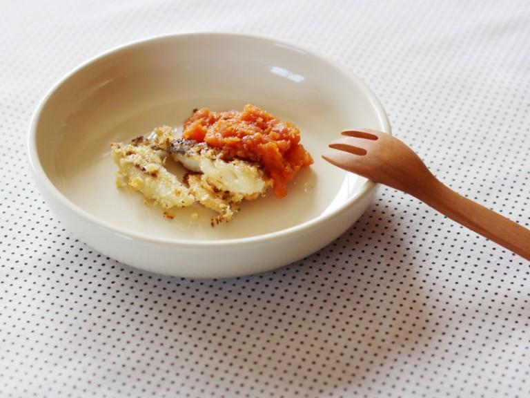 魚の鮮やかソースかけ(調理時間:約10分)対象:後期から