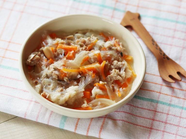 春雨と魚のうま煮(調理時間:約9分)対象:後期から