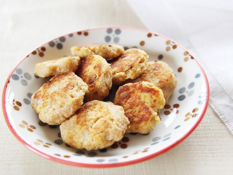 もちもちレンコンと魚のガレット(調理時間:約10分)対象:後期から
