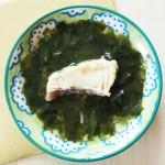 魚のトロトロわかめ煮(調理時間:約4分)*完了期から