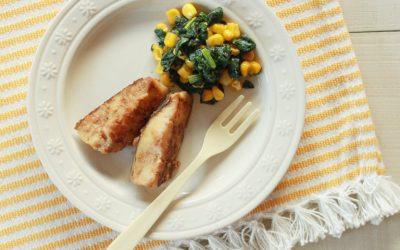 魚のごま照り焼き(調理時間:約18分)*幼児食