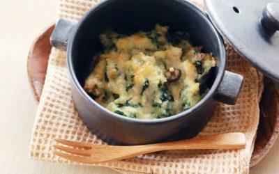 魚と牡蠣のグラタン(調理時間:約13分)*後期から