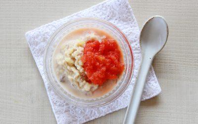 パプリカときな粉のツナサラダ(調理時間:約6分)*初期から