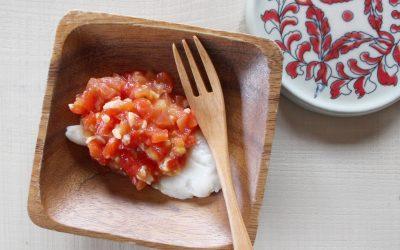 魚のトマト甘糀ソース(調理時間:約8分)*後期から