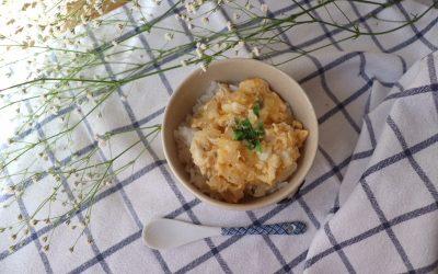 【ユーザー考案レシピ】お魚の卵丼 *後期から