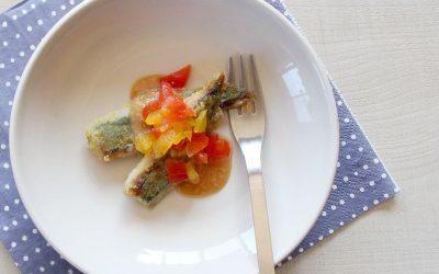 魚の黒酢カレー南蛮 (調理時間:約8分)*完了期から