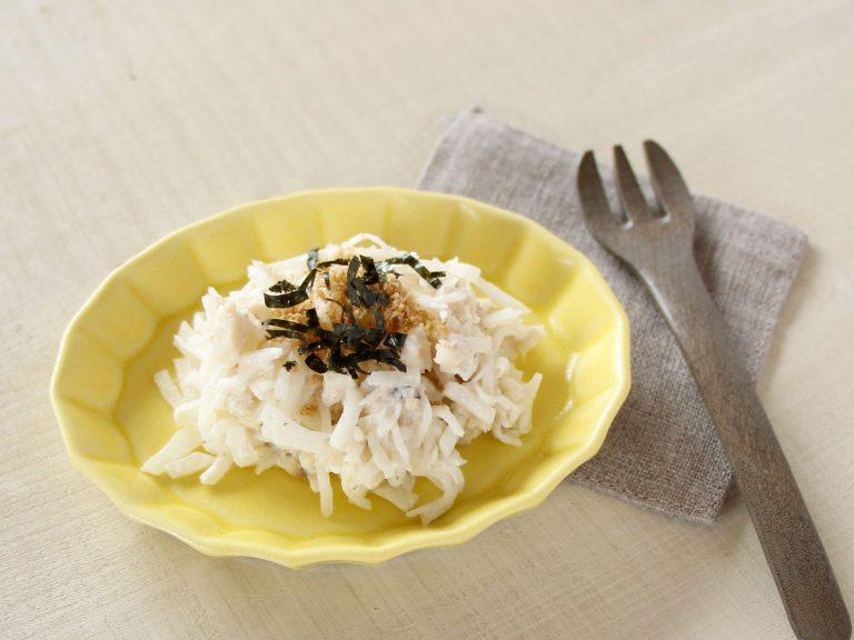 魚と大根サラダ(調理時間:約15分)*完了期から