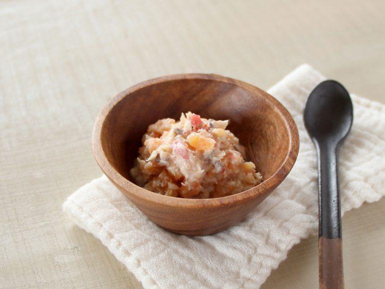 魚と人参のトマトヨーグルトサラダ(調理時間:約7分)*初期から