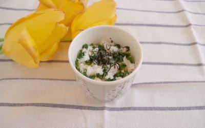菜の花と真鯛のちらし寿司