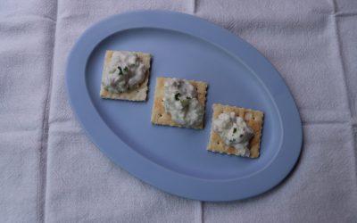 【ユーザー考案レシピ】お魚チーズのクラッカーのせ *完了期から